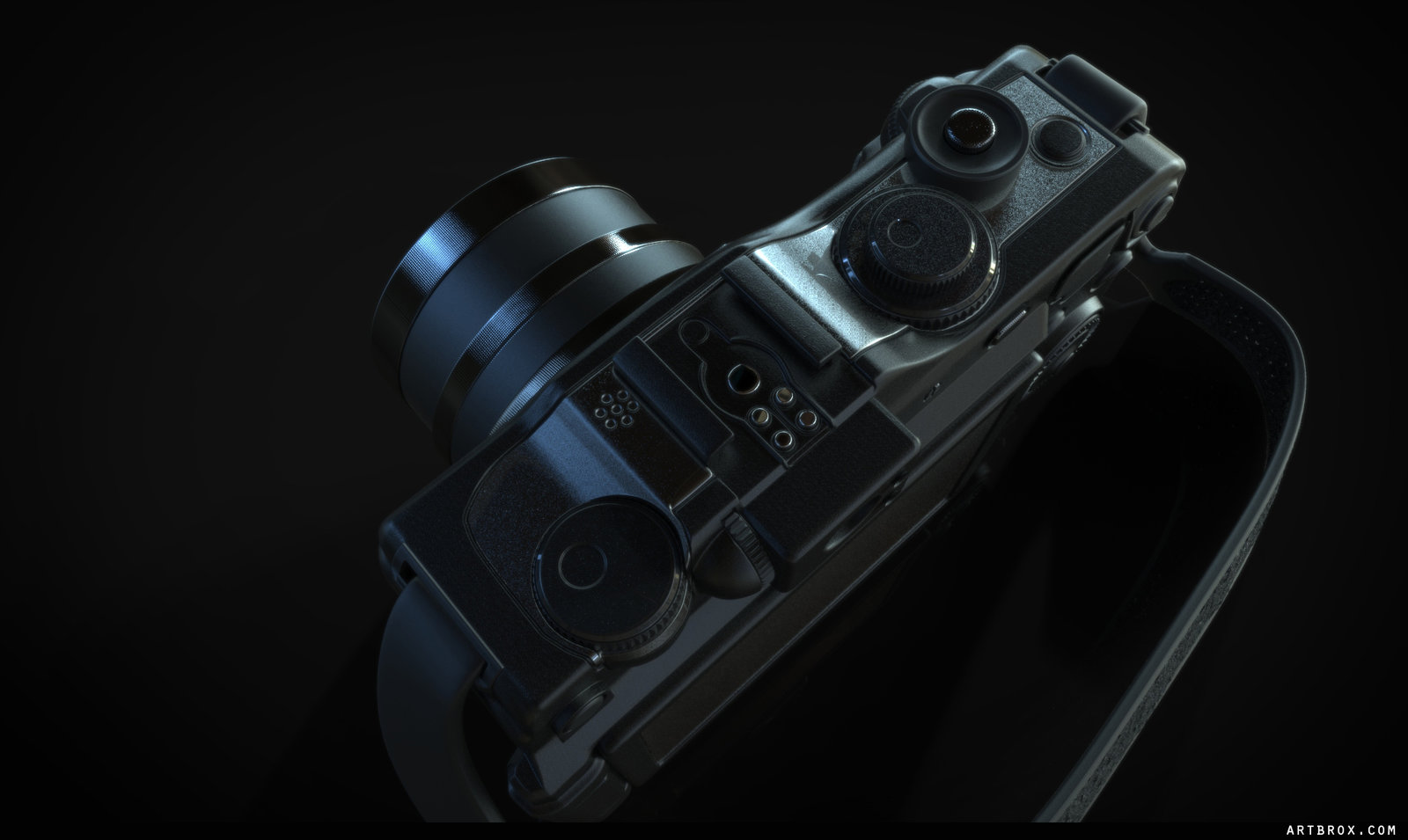 Camera highpoly