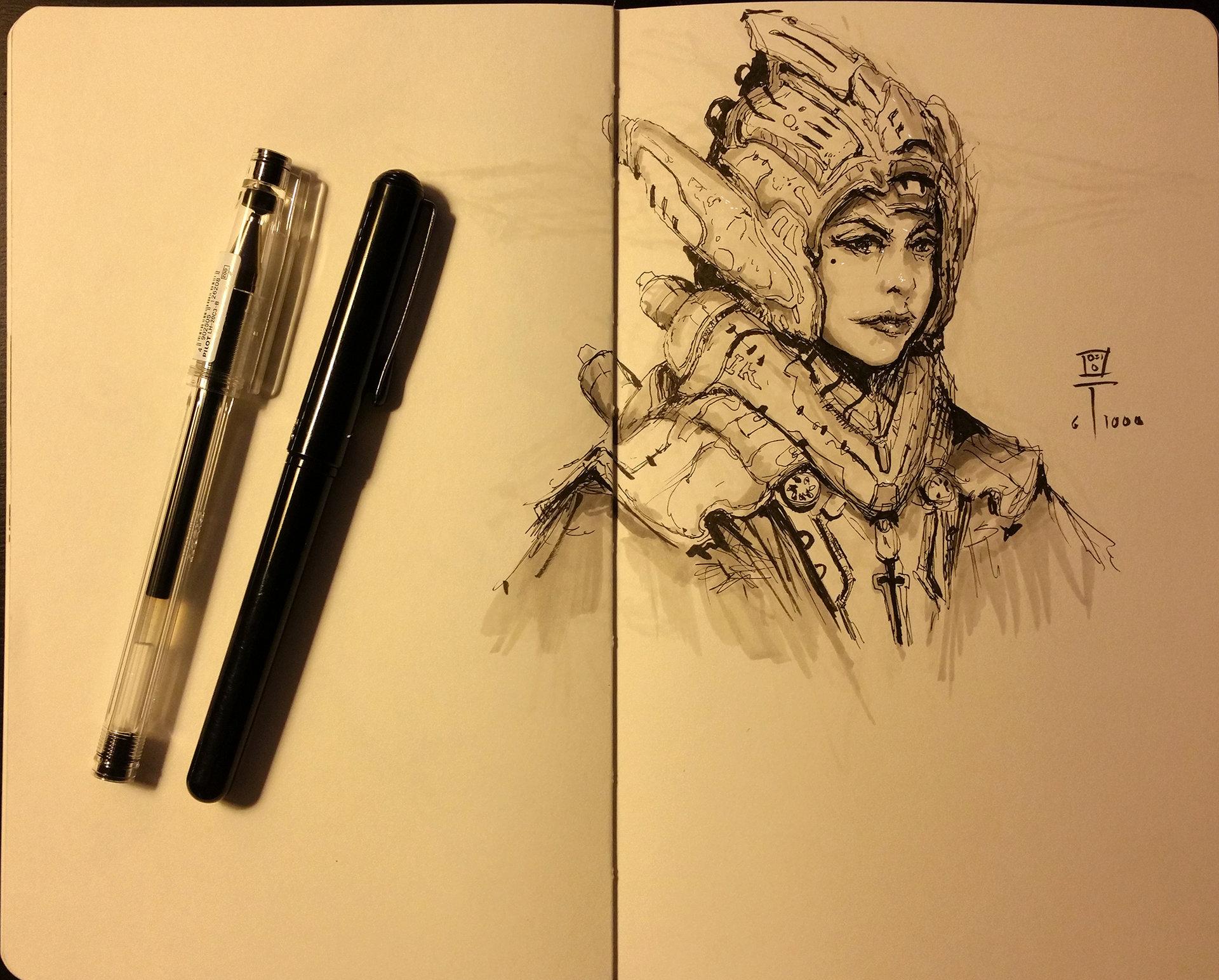 Muyoung kim sketchbook 9