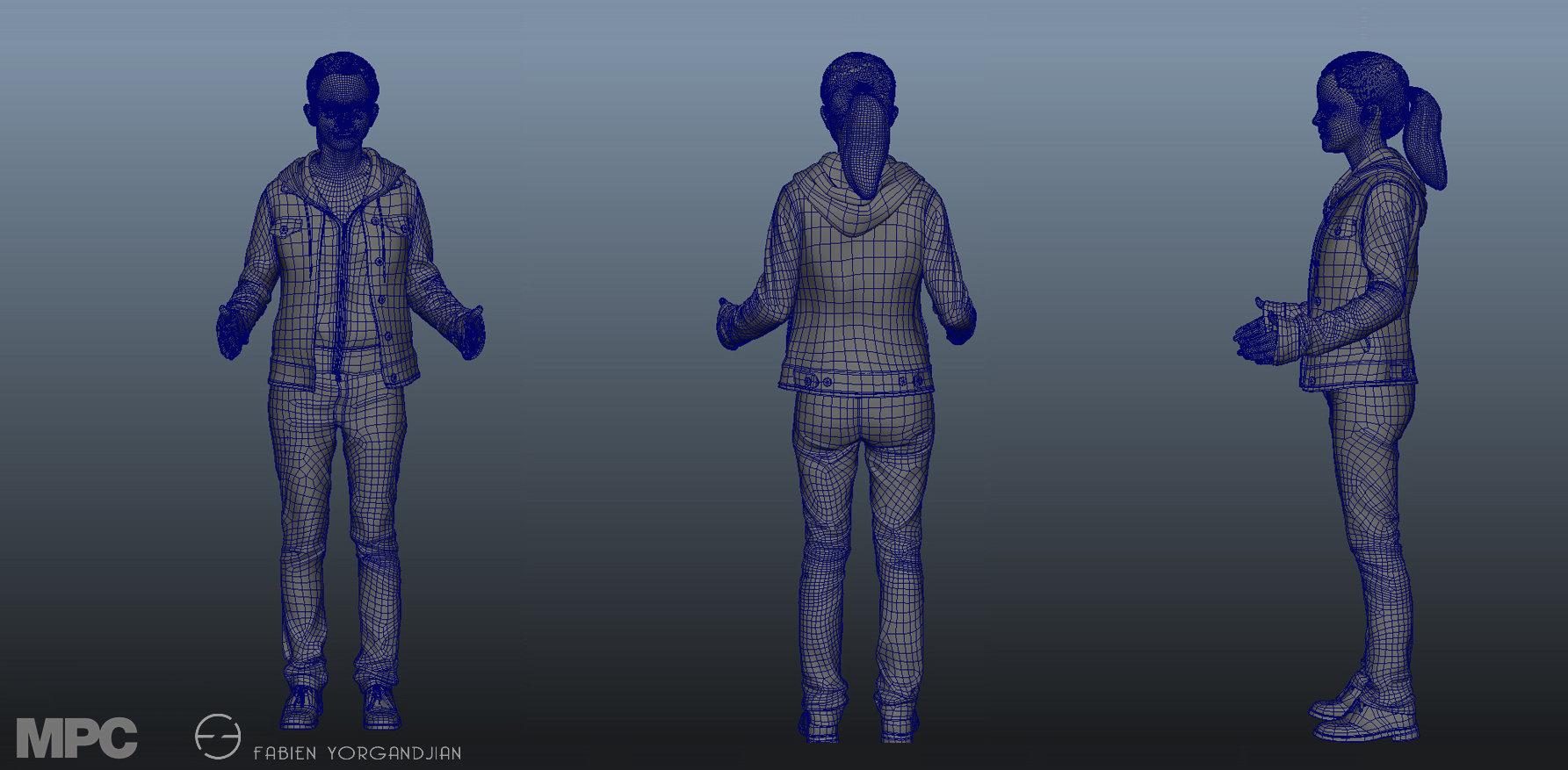 Fabien yorgandjian harrypotter hermione digitaldouble 02
