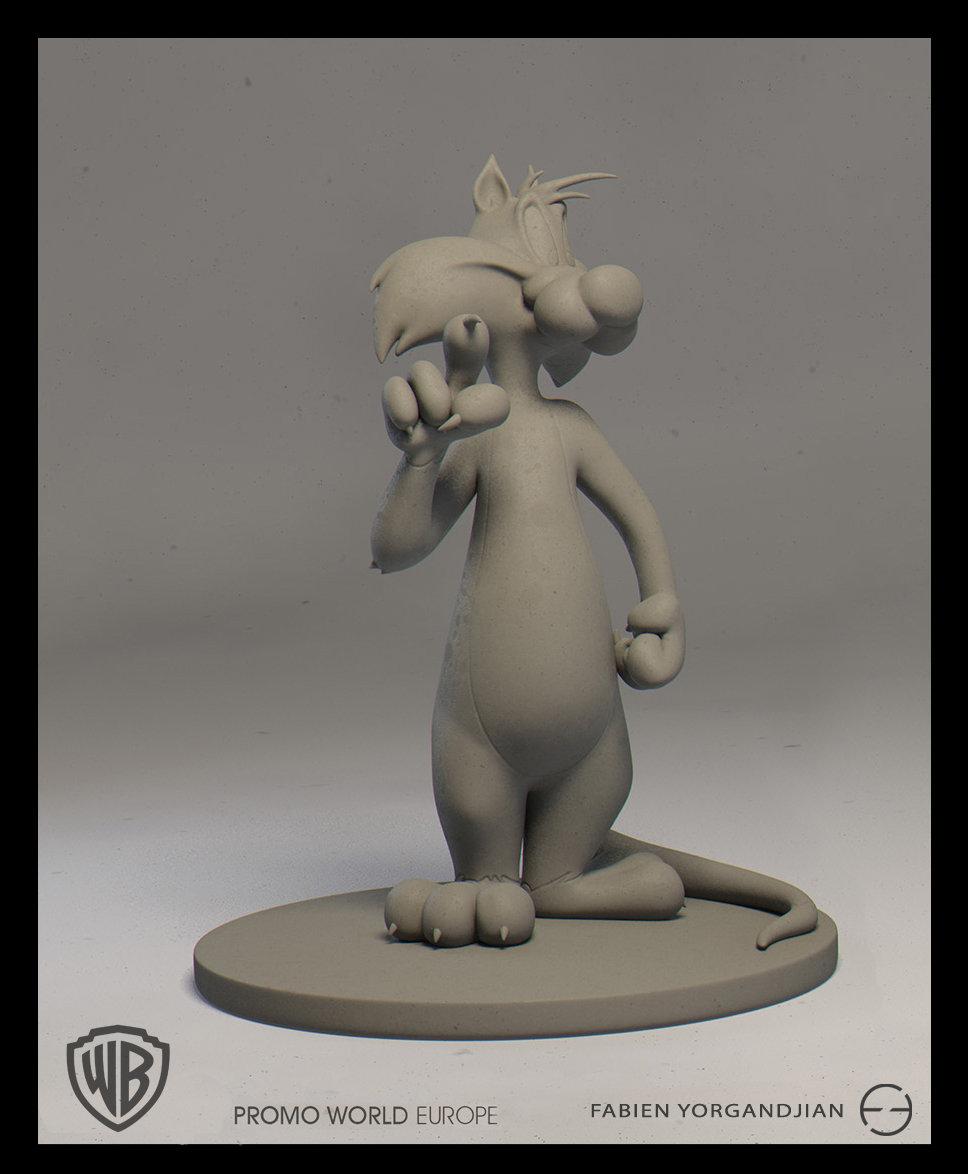Fabien yorgandjian warner sculpt sylvestre 03