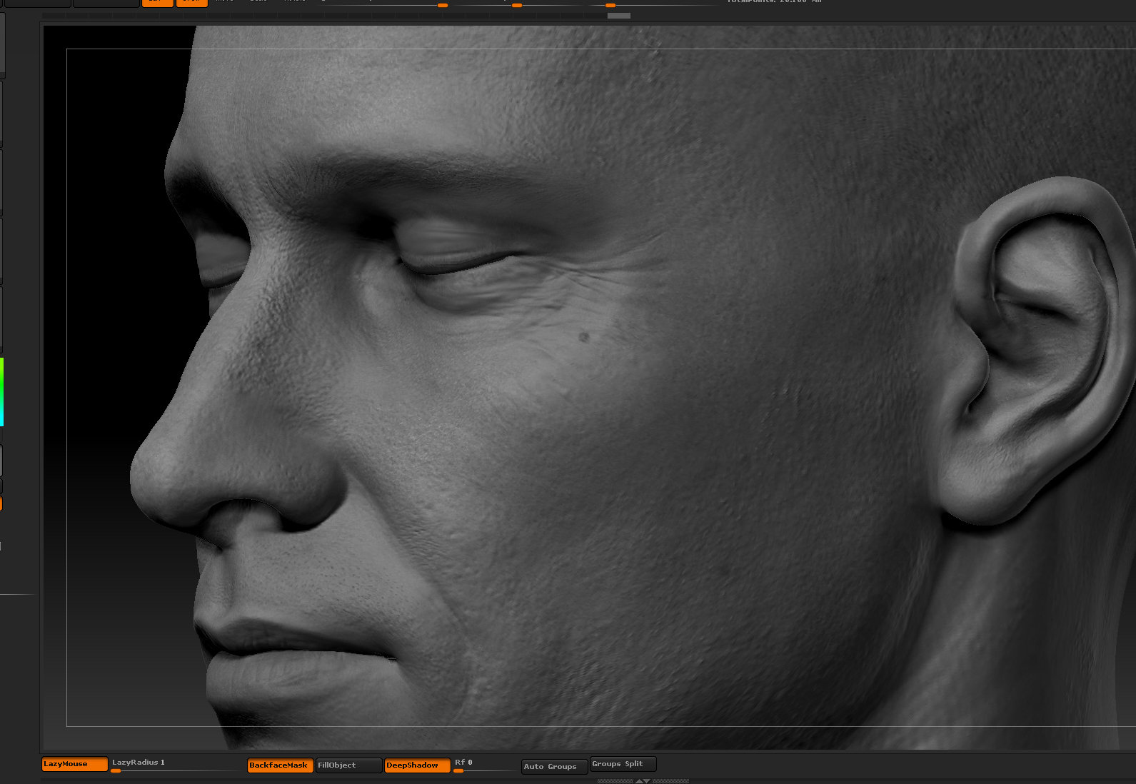 Ui joo moon head zbrush07