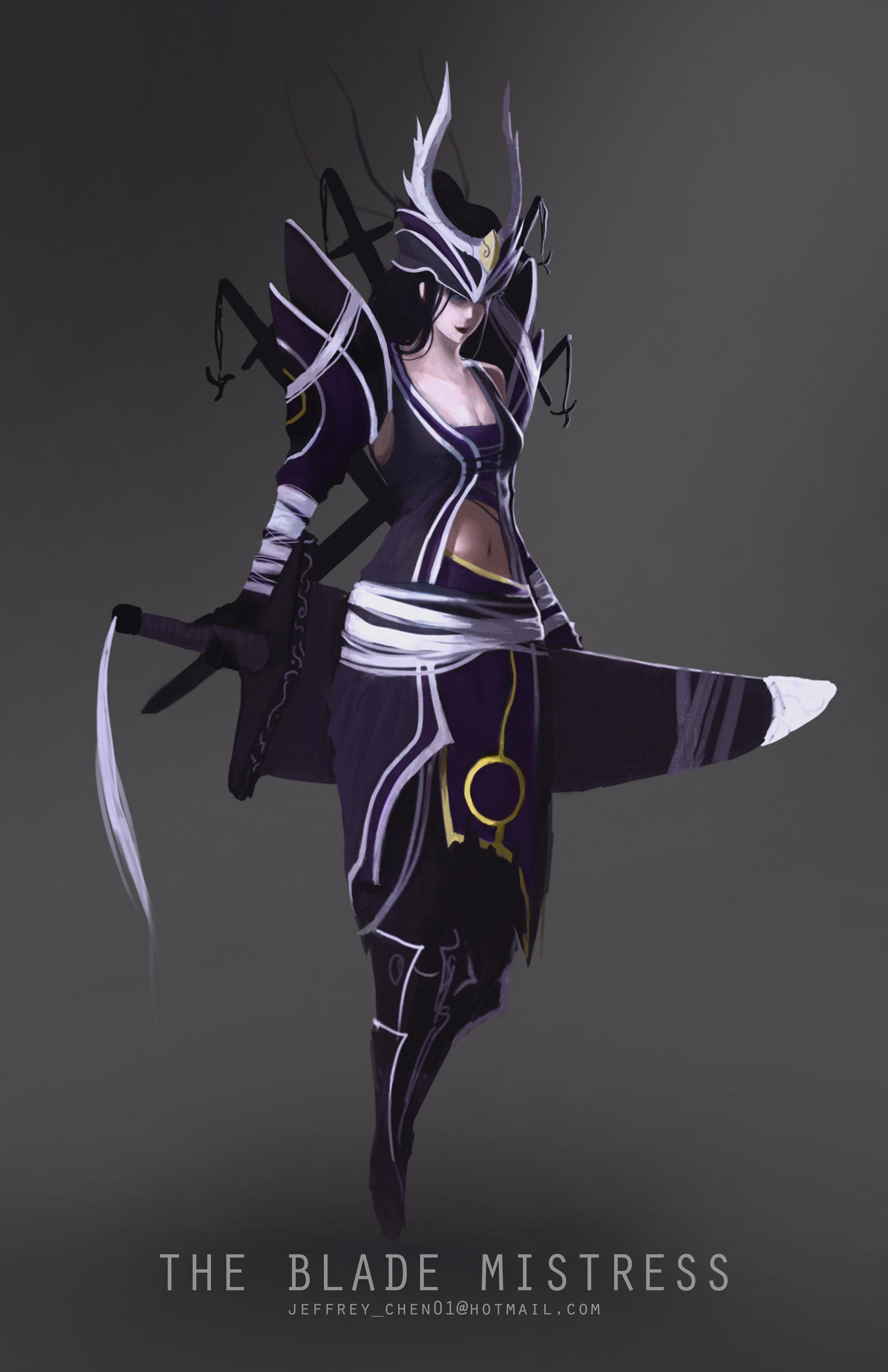 Jeff chen sword woman