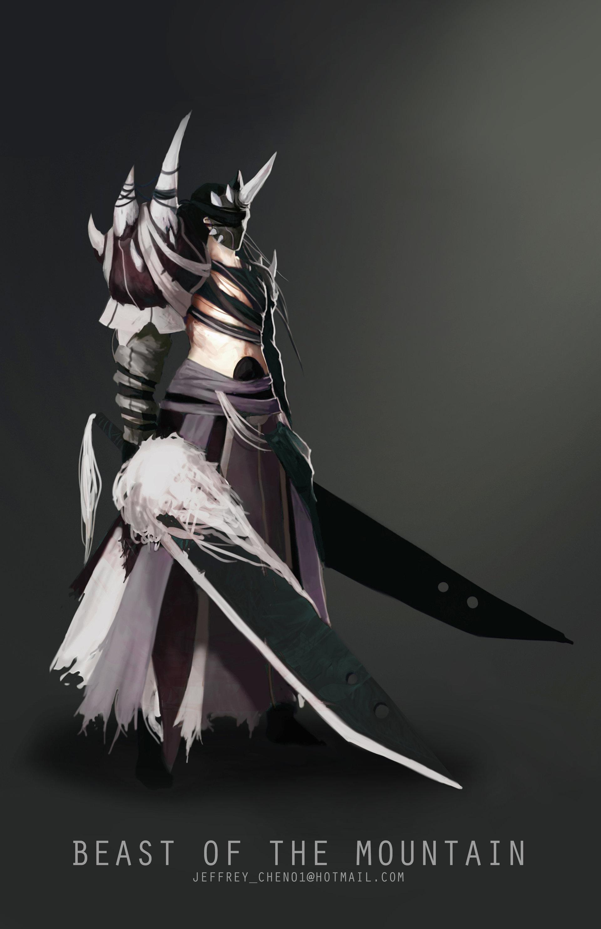 Jeff chen jeff chen swordsman