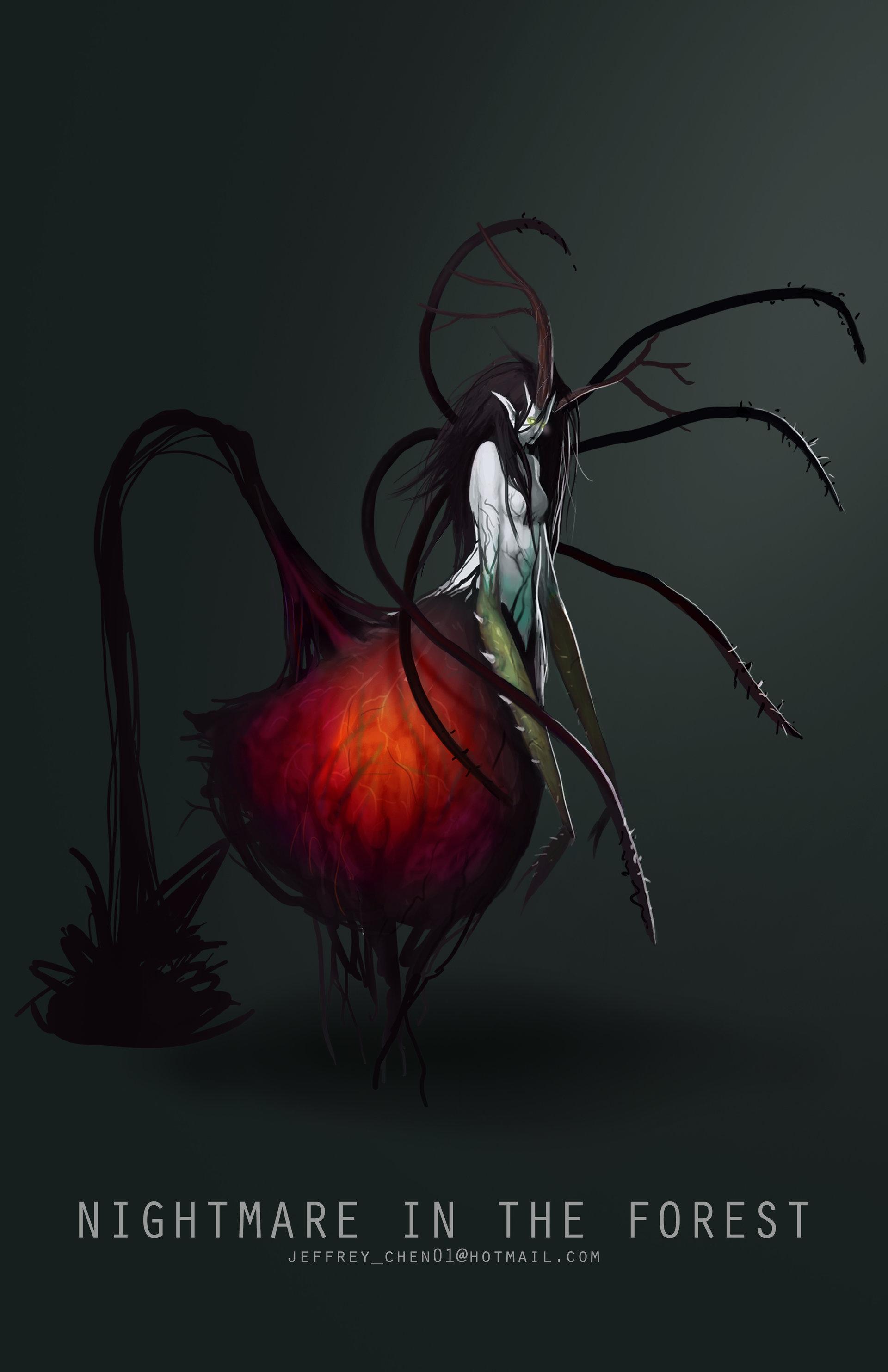 Jeff chen forest demon girl