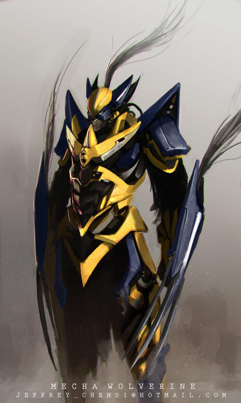 Mecha Wolverine