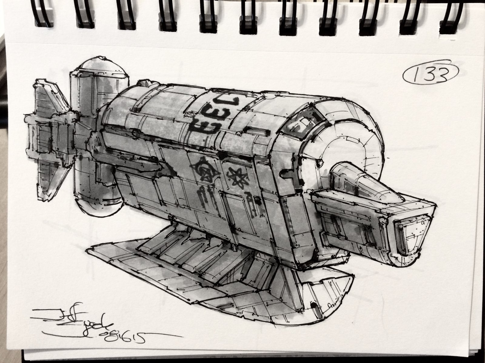SpaceshipADay 133