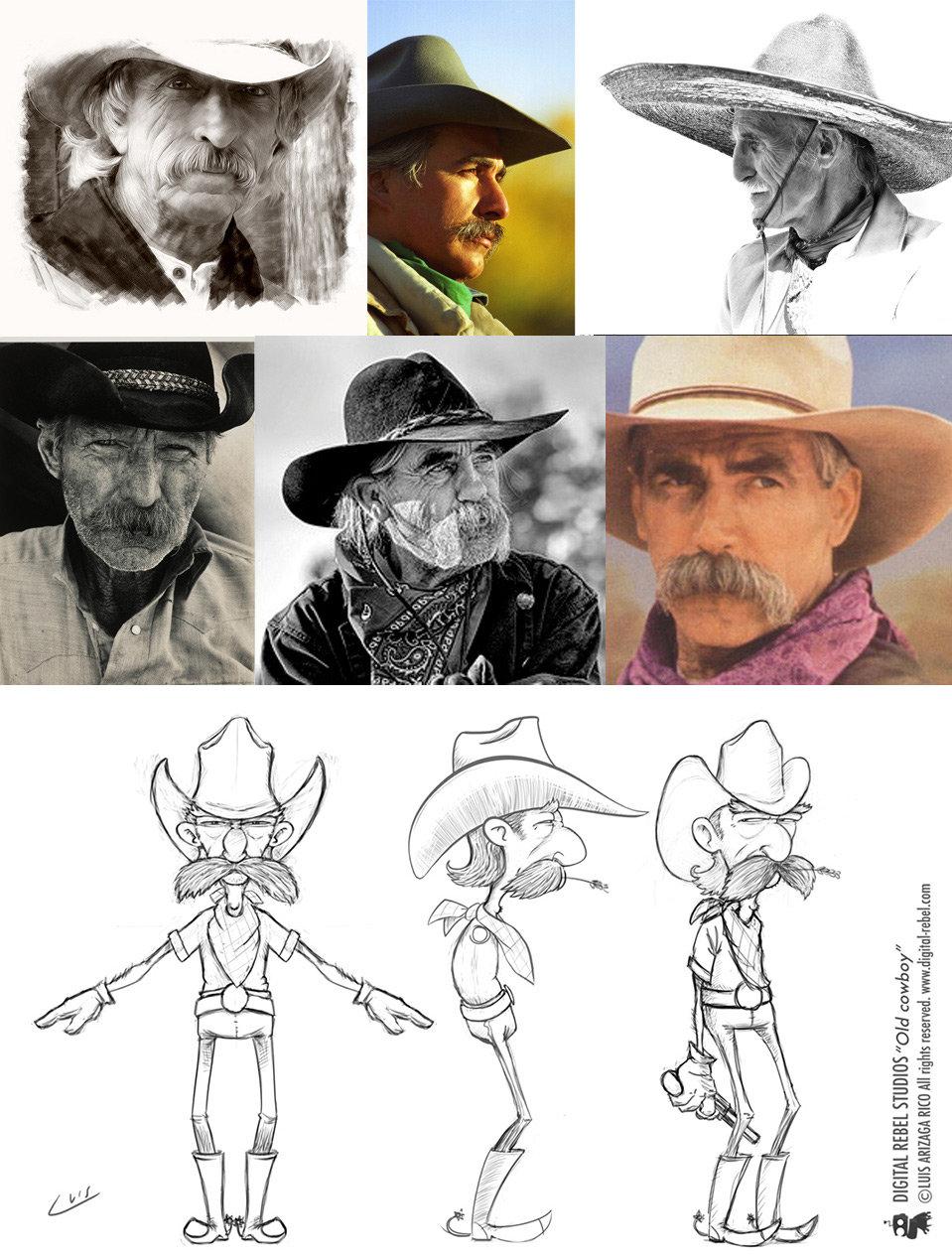 Luis arizaga rico cowboy process