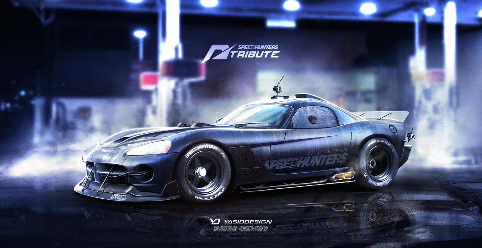 Speedhunters Dodge Viper SRT Need for speed tribute