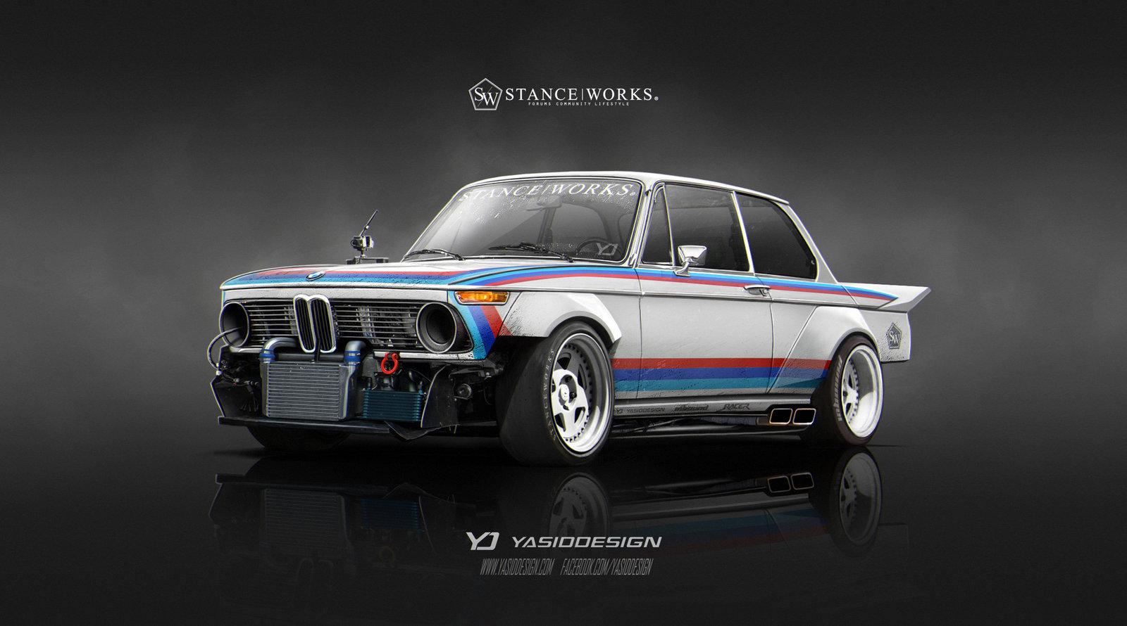 Stanceworks 1974 BMW 2002