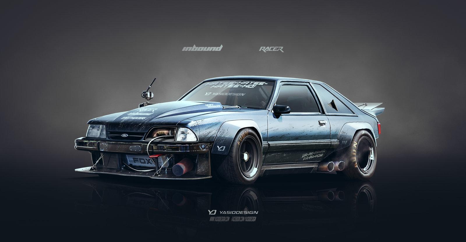 Foxy Mustang - Inbound racer