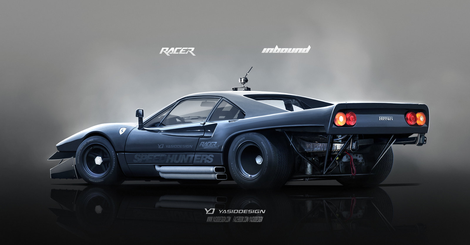 Inbound Racer Ferrari 288 GTO