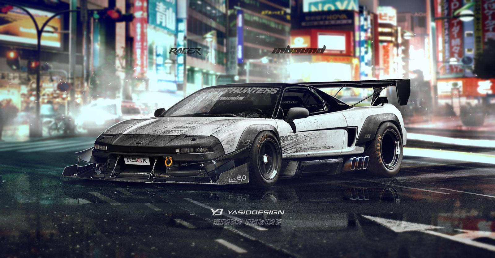 Honda NSX Inbound racer