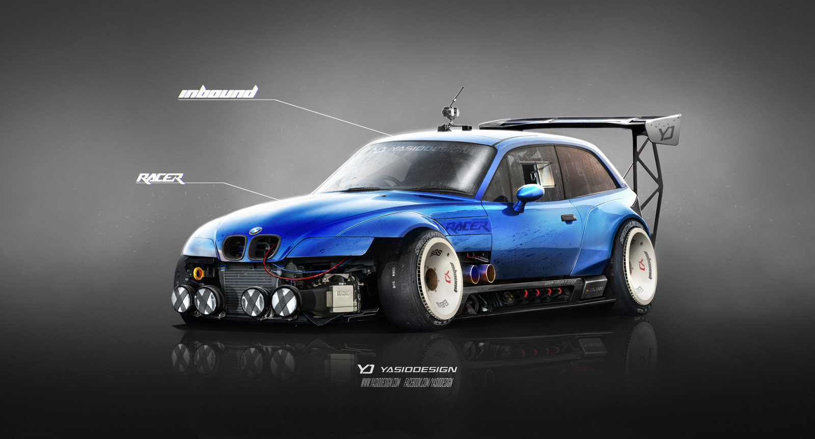 BMW Z3 M Inbound Racer V2 BLUE