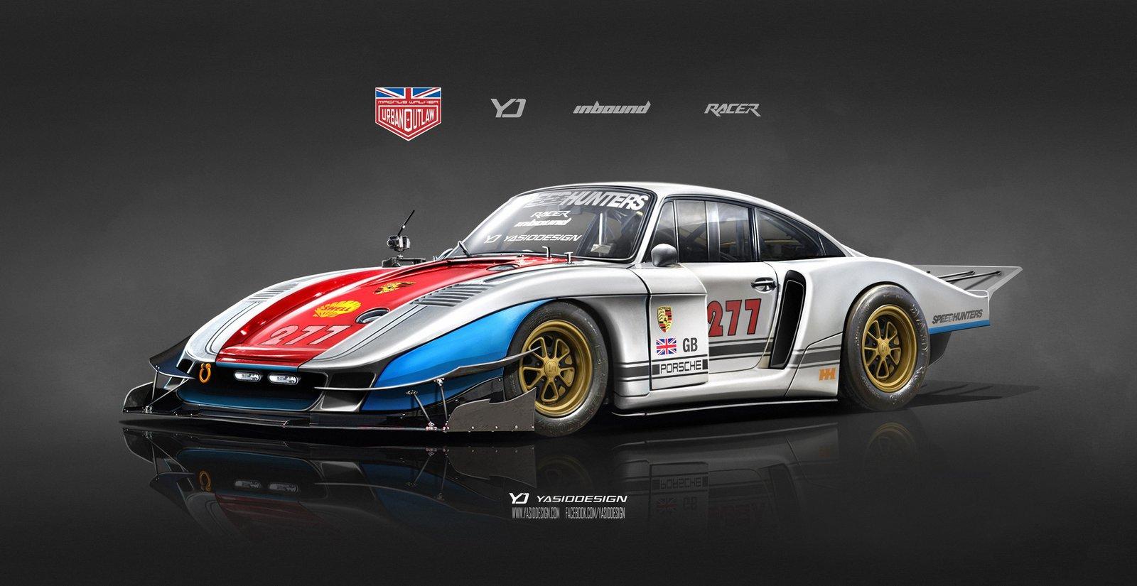 Speedhunters Porsche 935 X Magnus Walker special