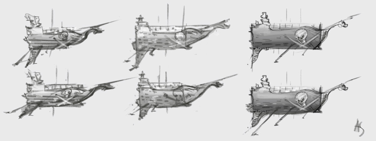 Pirate ship, further designs