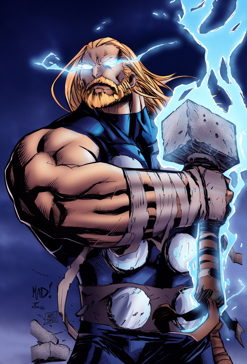 Matt james thor by mattjamescomicarts d8l3h0s