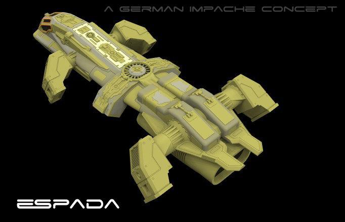 German impache espada proto 18