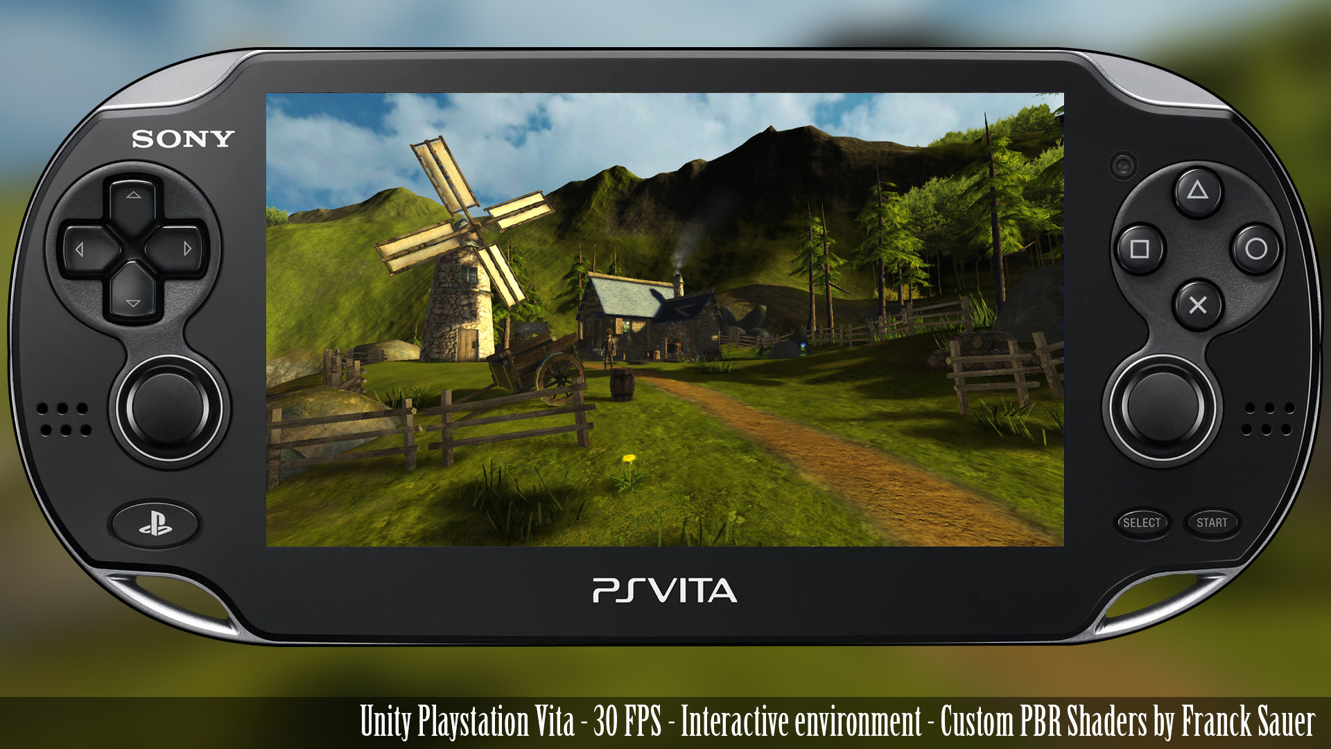 Luc Chamerlat - PS Vita Interactive Environment (Unity)