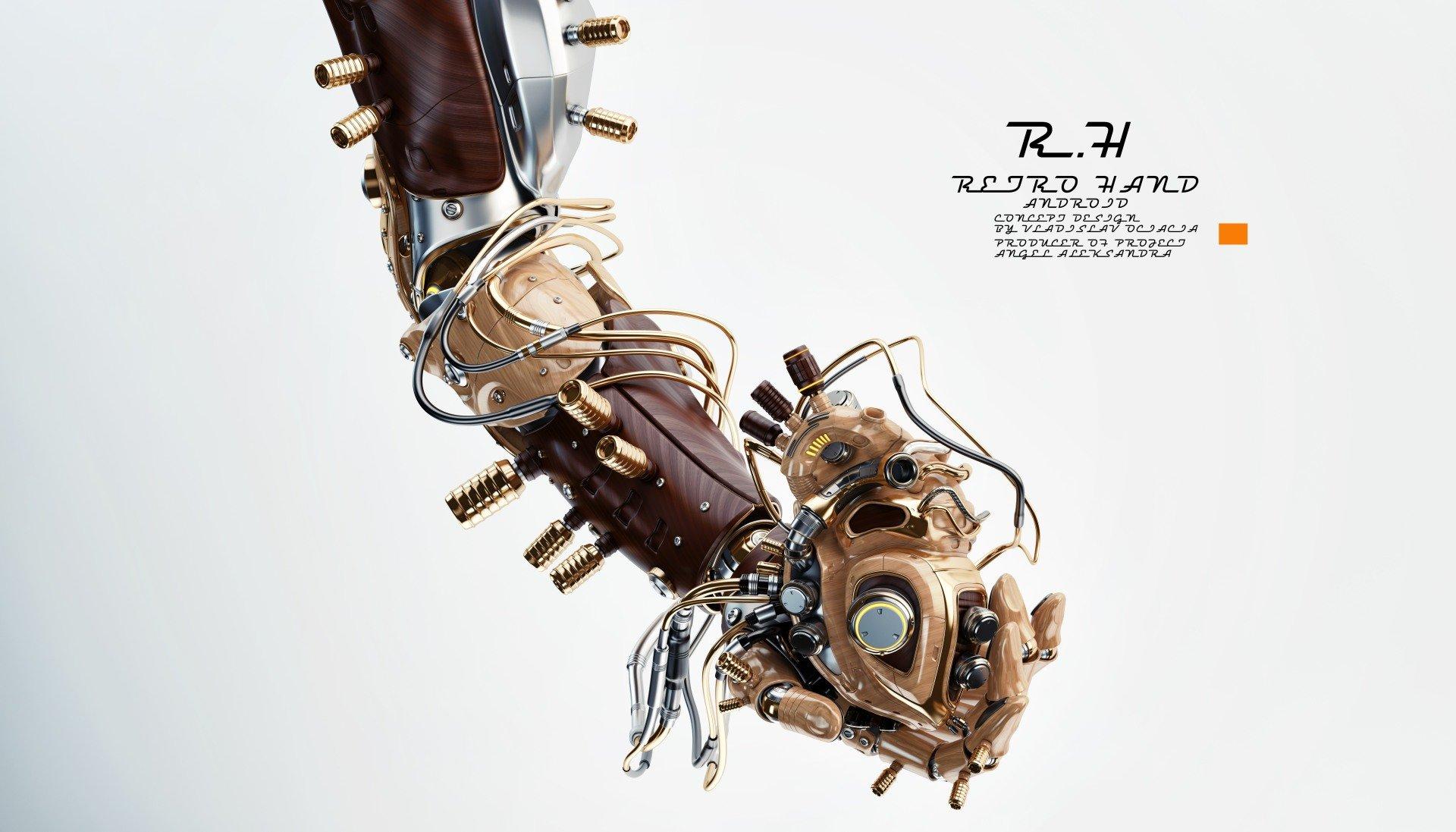 Vladislav ociacia robotic hand hold heart 7