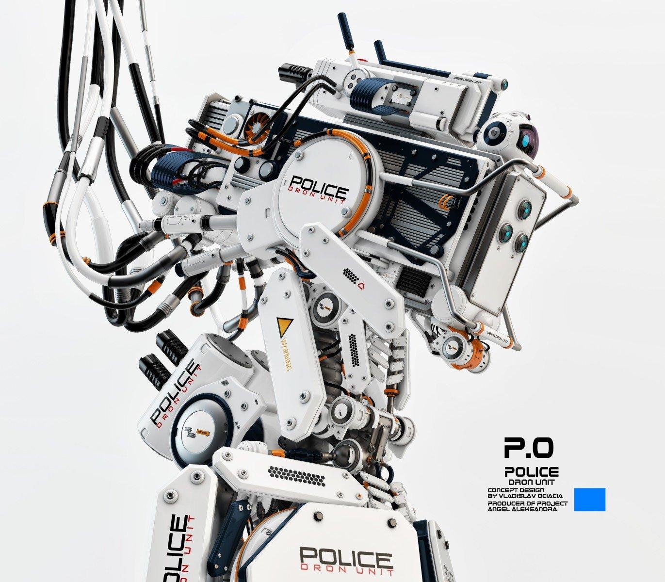 Vladislav ociacia police dron unit 4