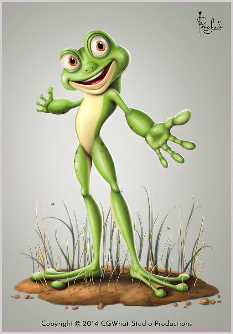 Parag lavande frog final pose