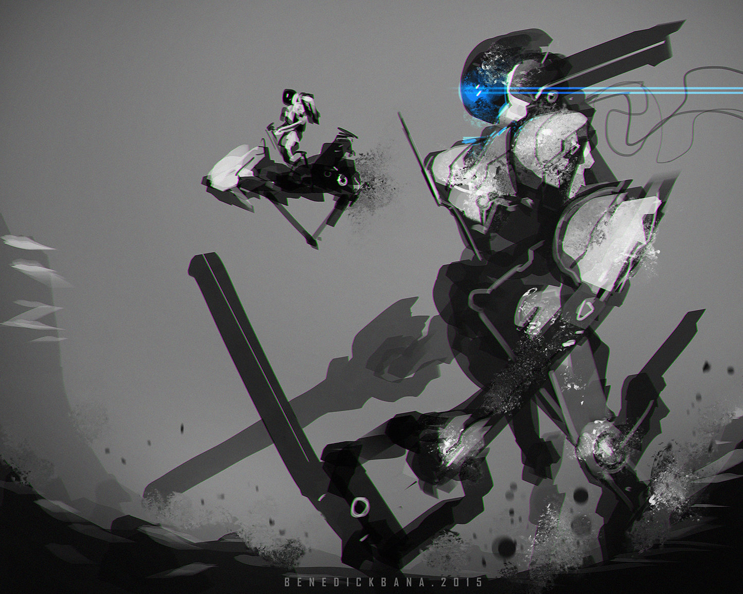 Benedick bana nasa mech and vehicles lores