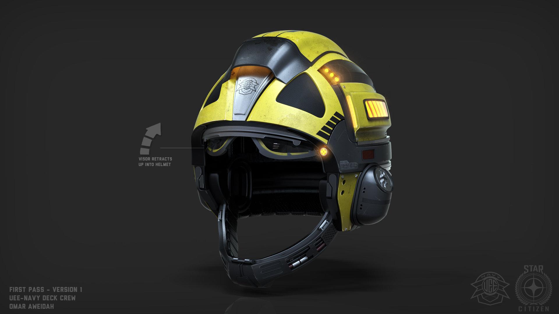 New Helmet Design