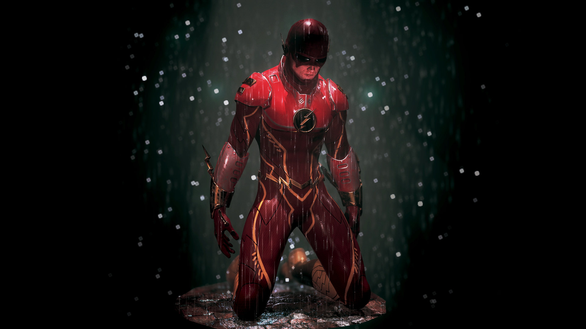 Best Flash Wallpaper 3d: The Flash, Mickael Vermosen
