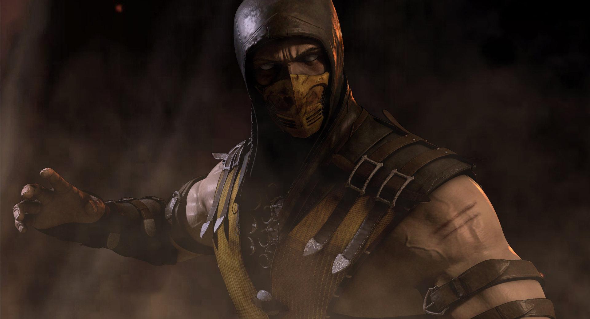 Artstation Scorpion Mortal Kombat X Mohammed Mistry