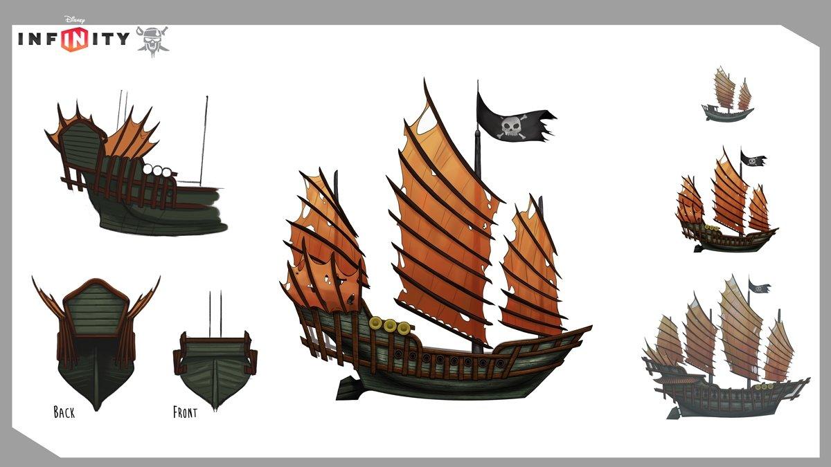 The regular Sau Feng fleet ship
