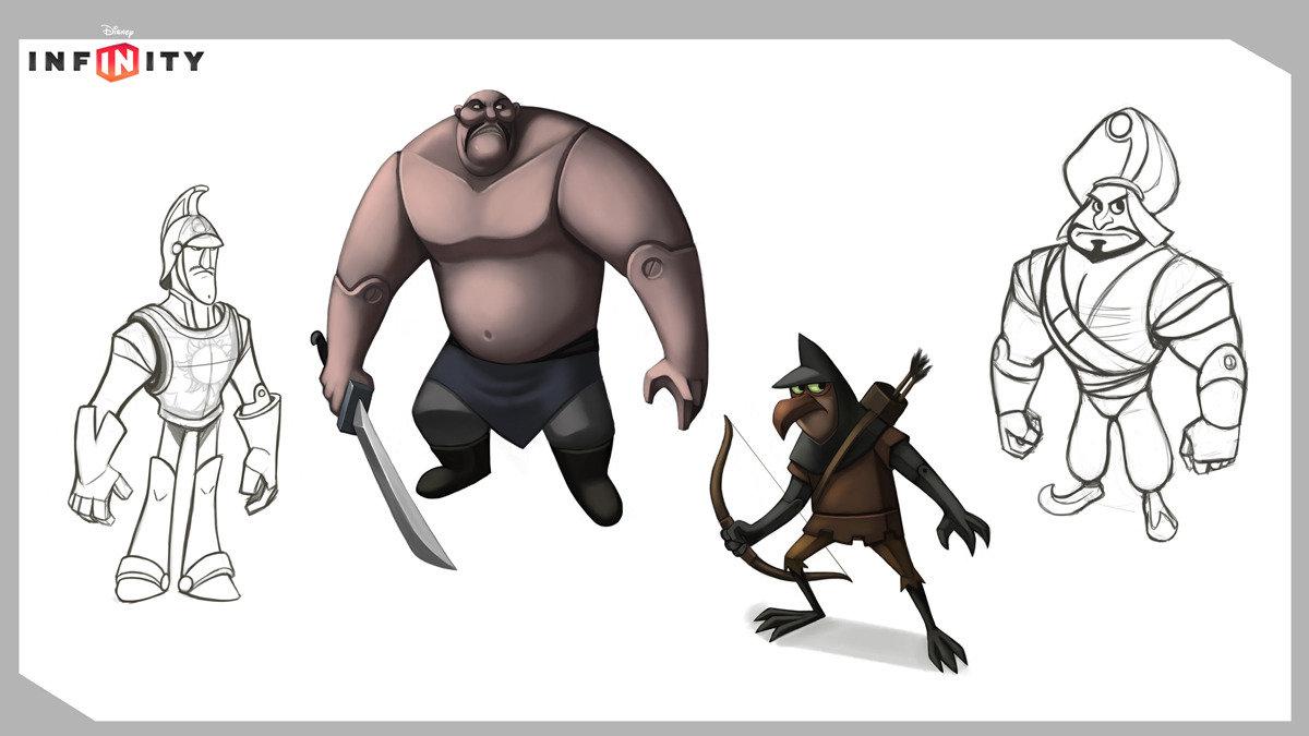 Random villains from various IPs