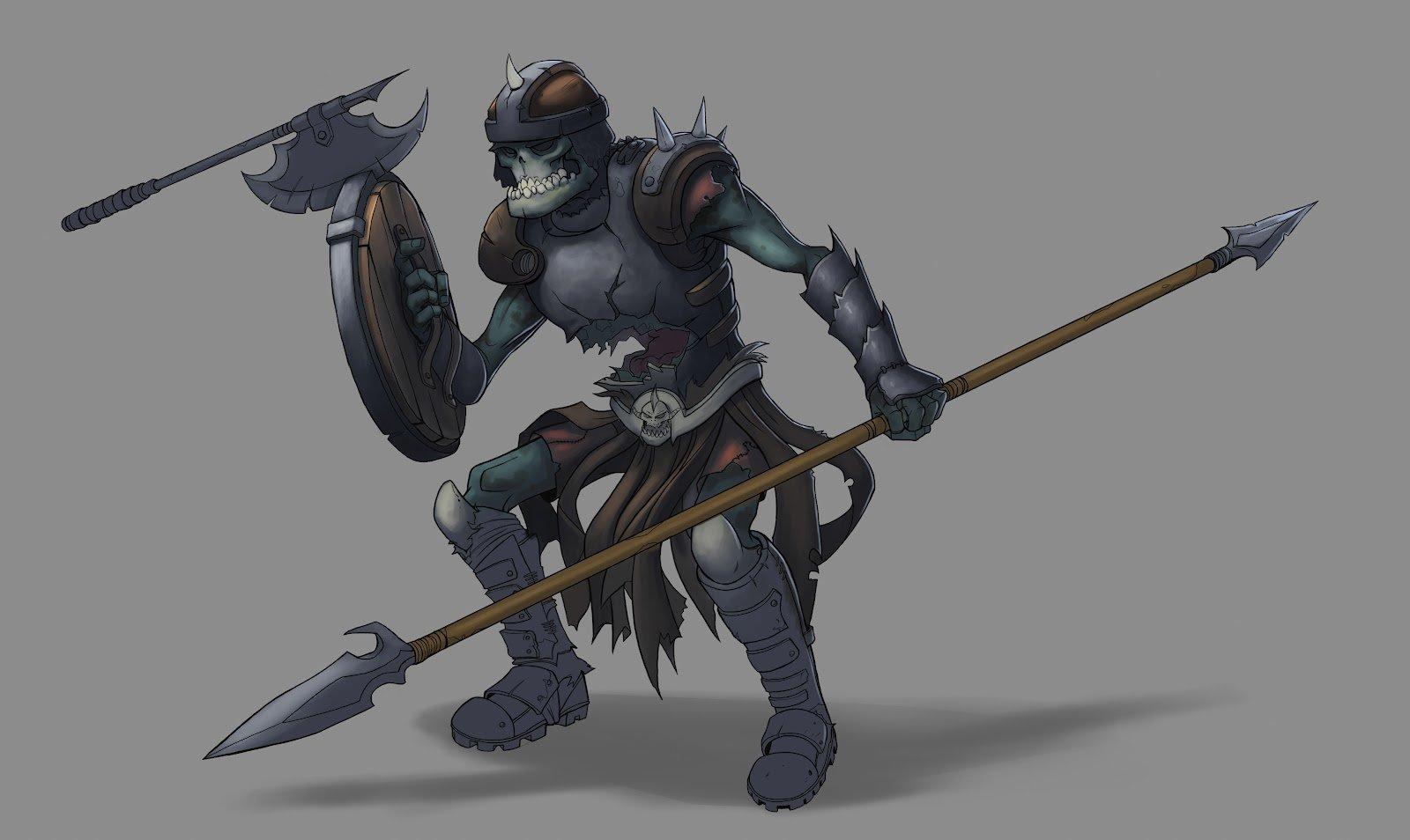 Christopher hayes skeleton warrior