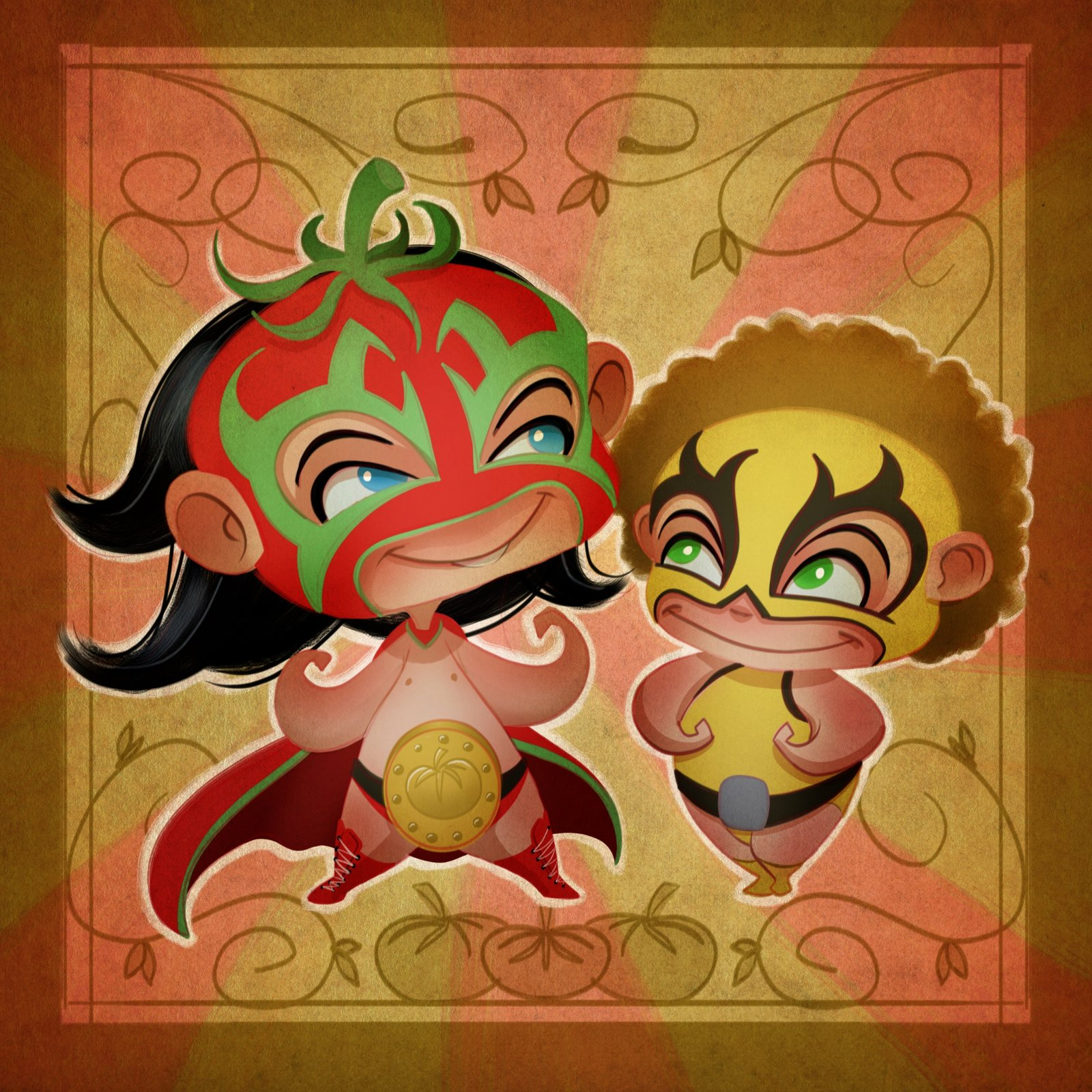 El Ketch-Chappo and Mustardito