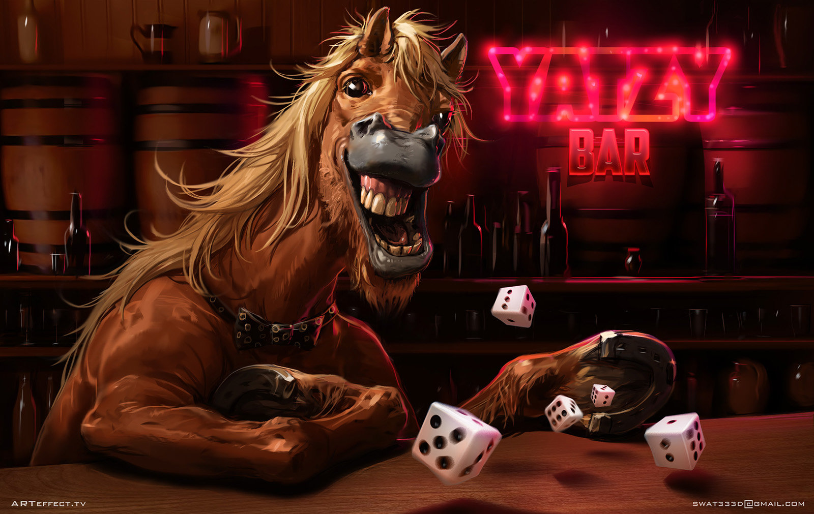 Sviatoslav gerasimchuk drunken horse