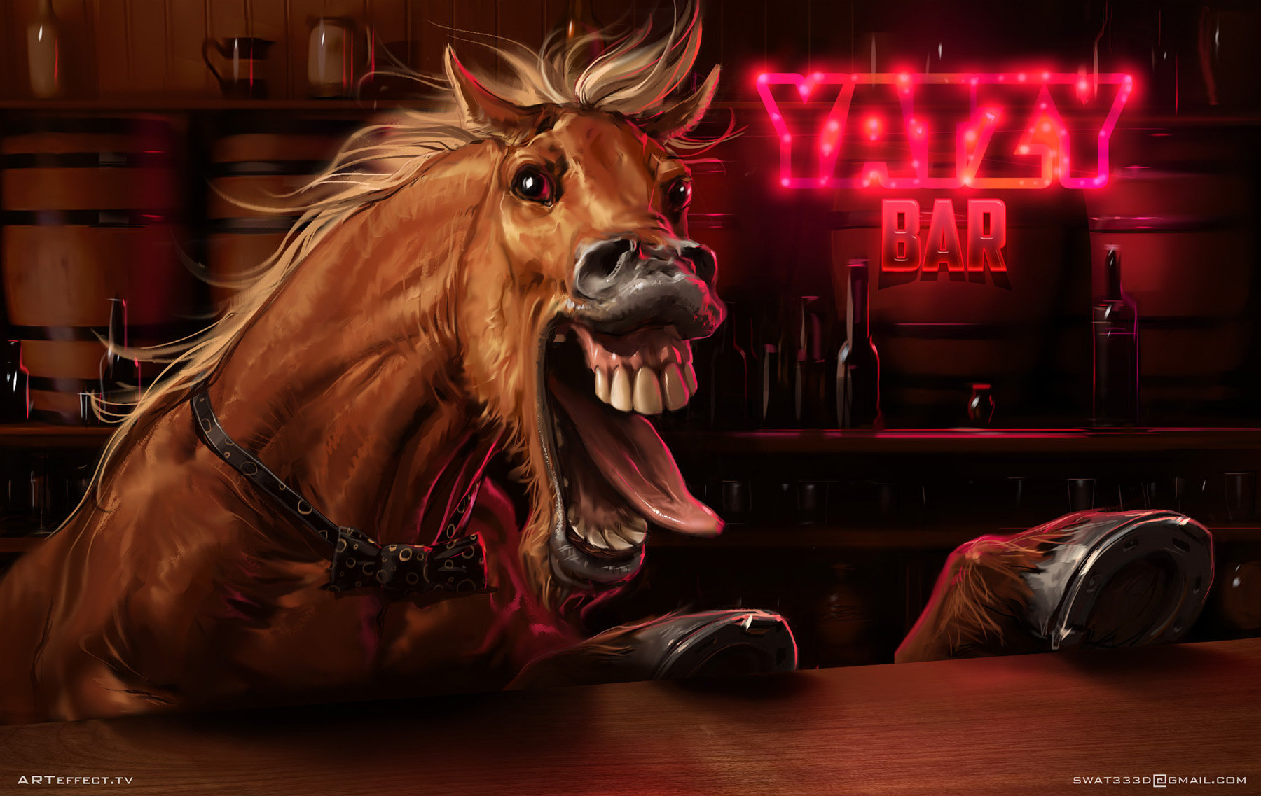Sviatoslav gerasimchuk screaming horse