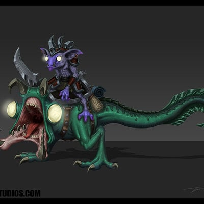 Travis lacey swamp creature mmo game art concept artist concepts conceptual design mount