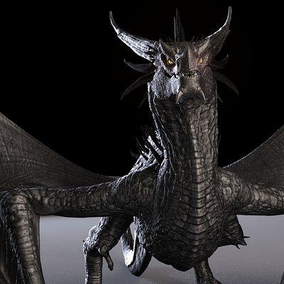 Truong chau dragon maya rig truongcgartist 2