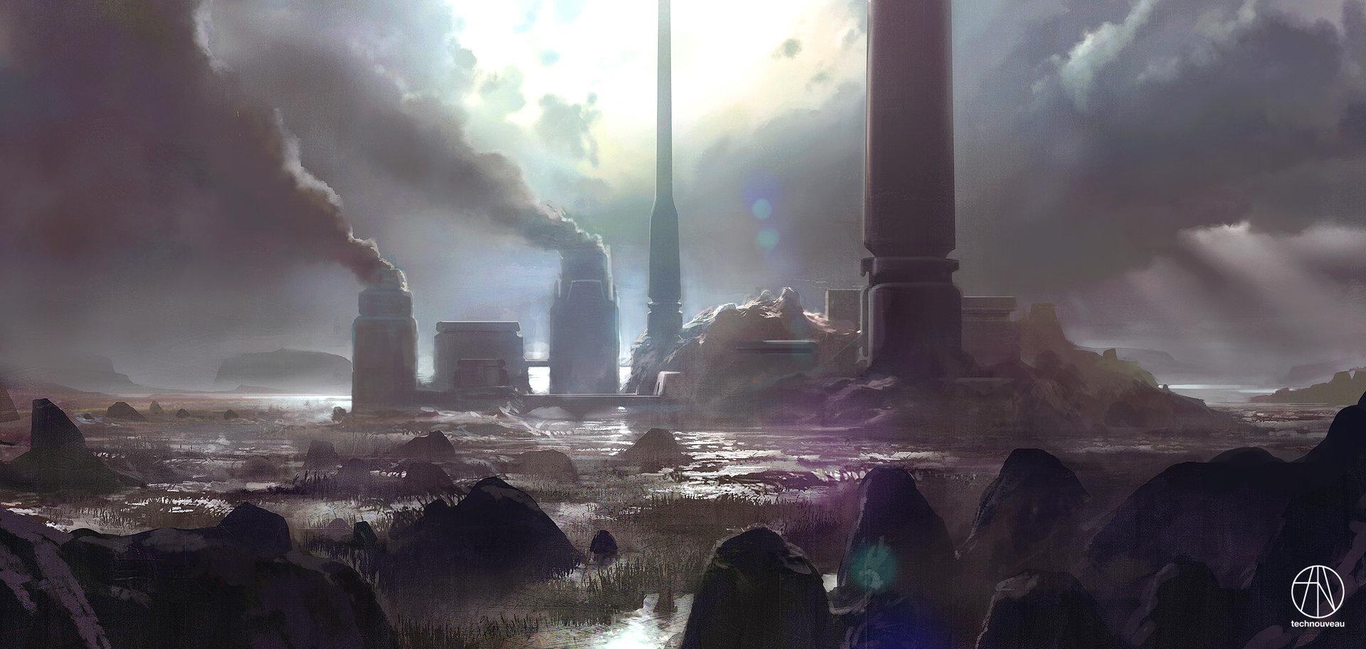 Rasmus poulsen interplanetary gunnery station
