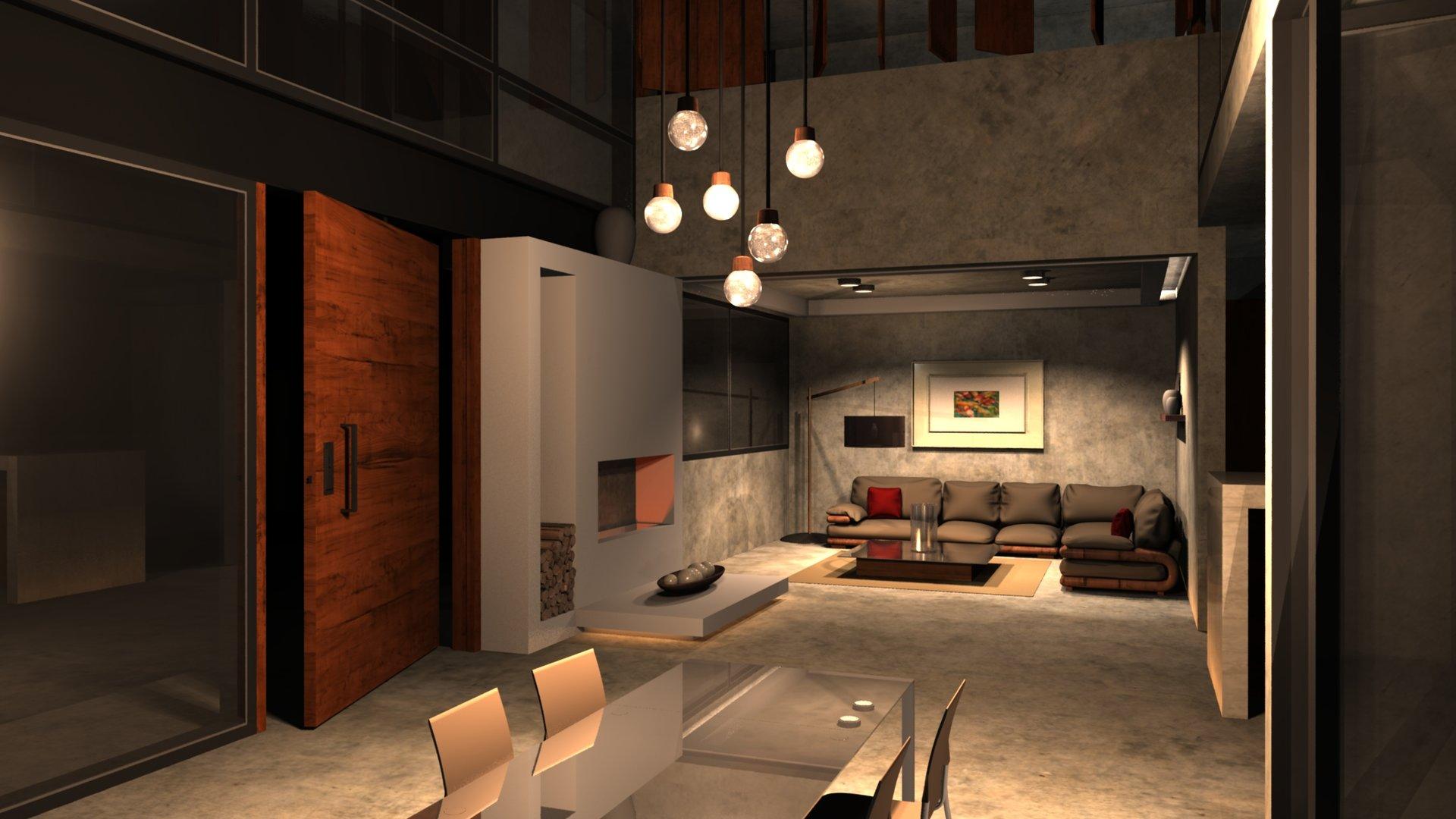 ArtStation Living Room Brenda MrquezGeorgge