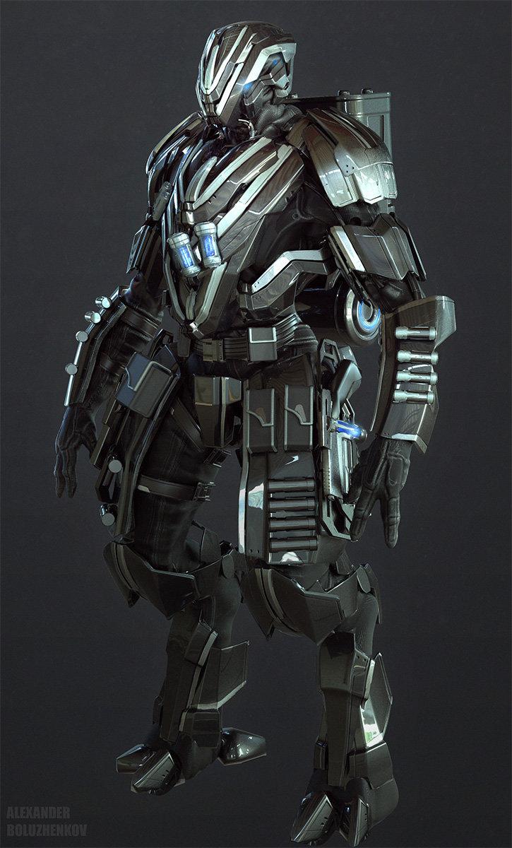 Alexander boluzhenkov alienhunter gunner
