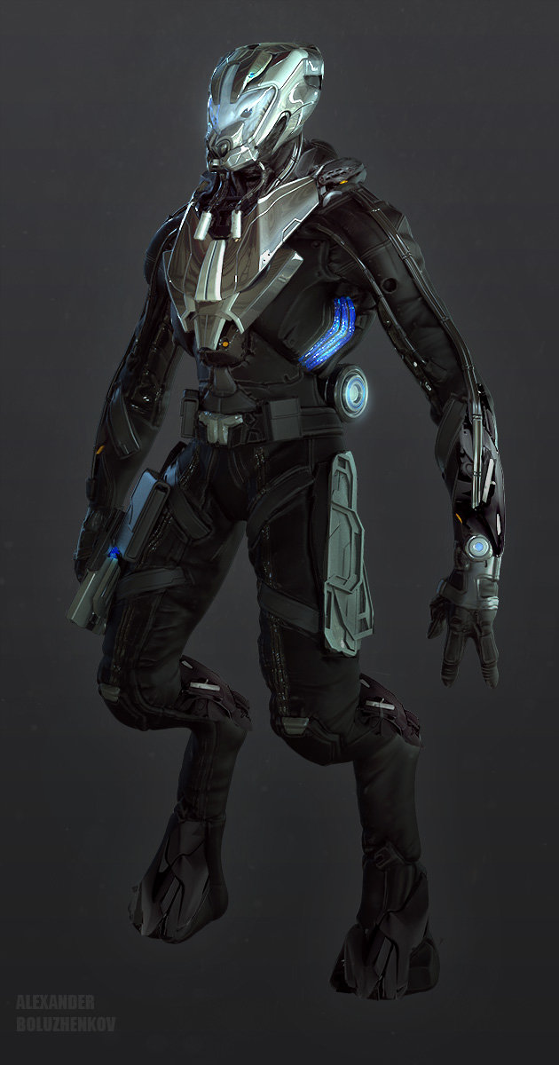 Alexander boluzhenkov alienhunter pilot