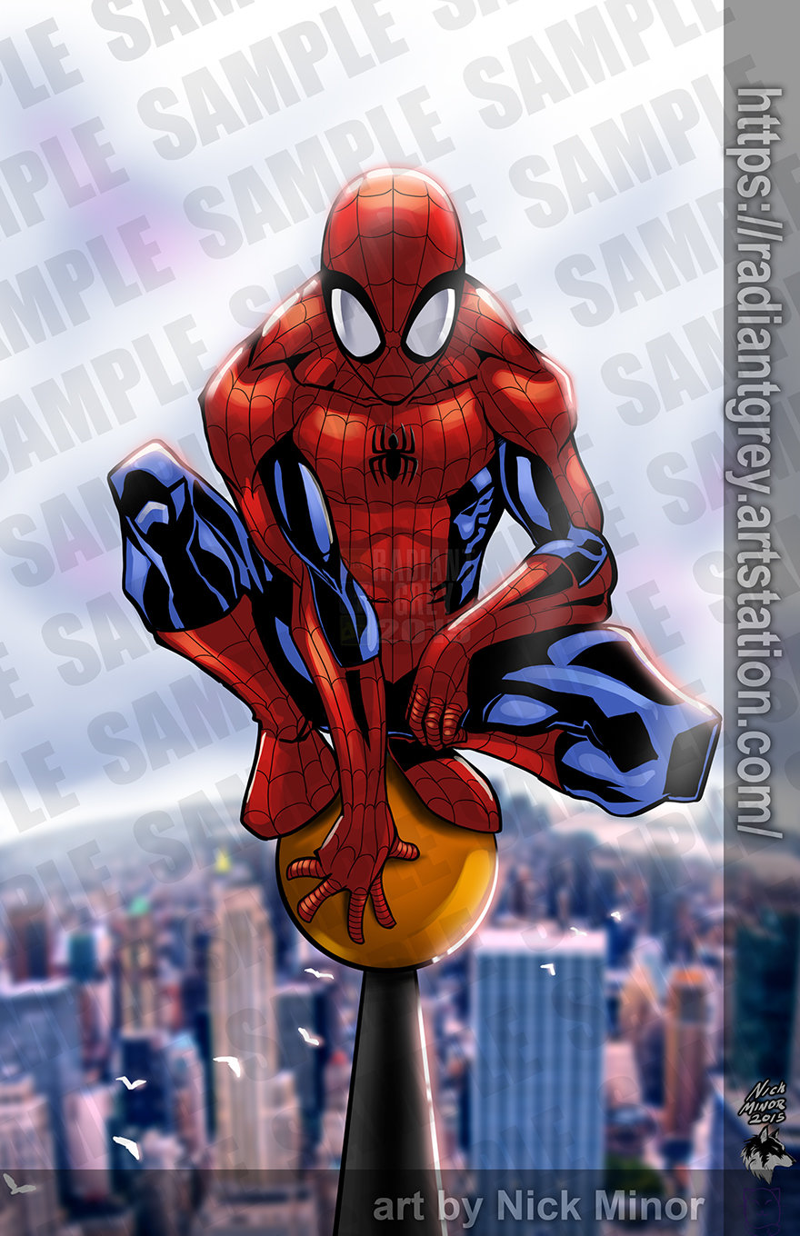 Nick minor spider man webuse