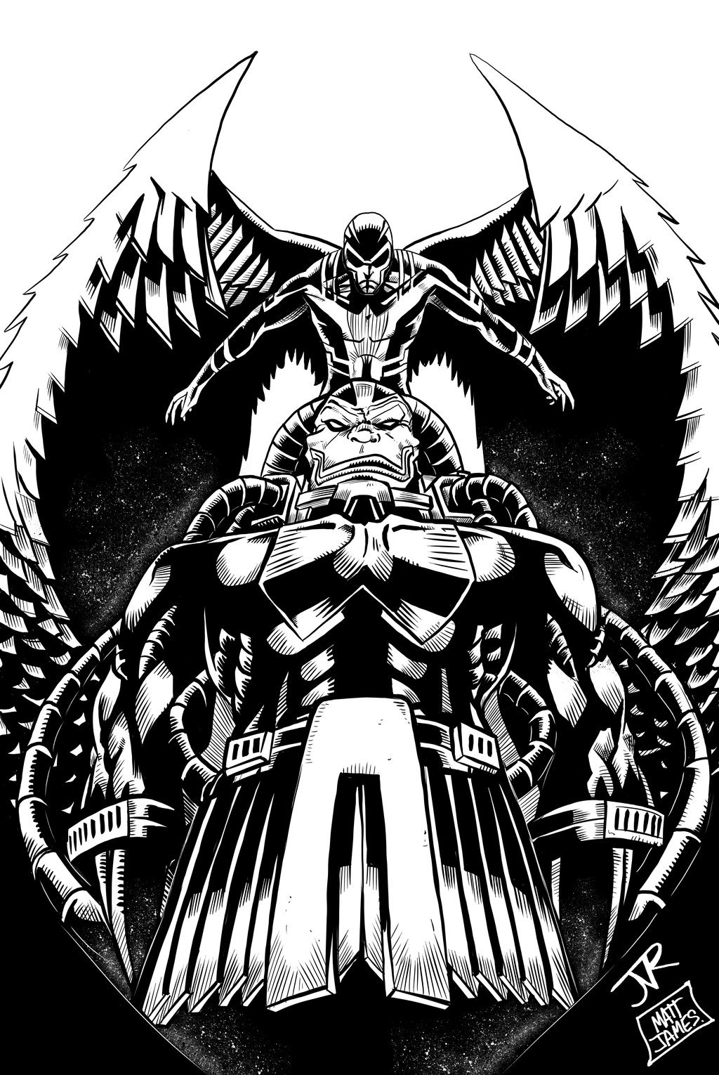 Matt james apocalypse and archangel by mattjamescomicarts d88xoqq