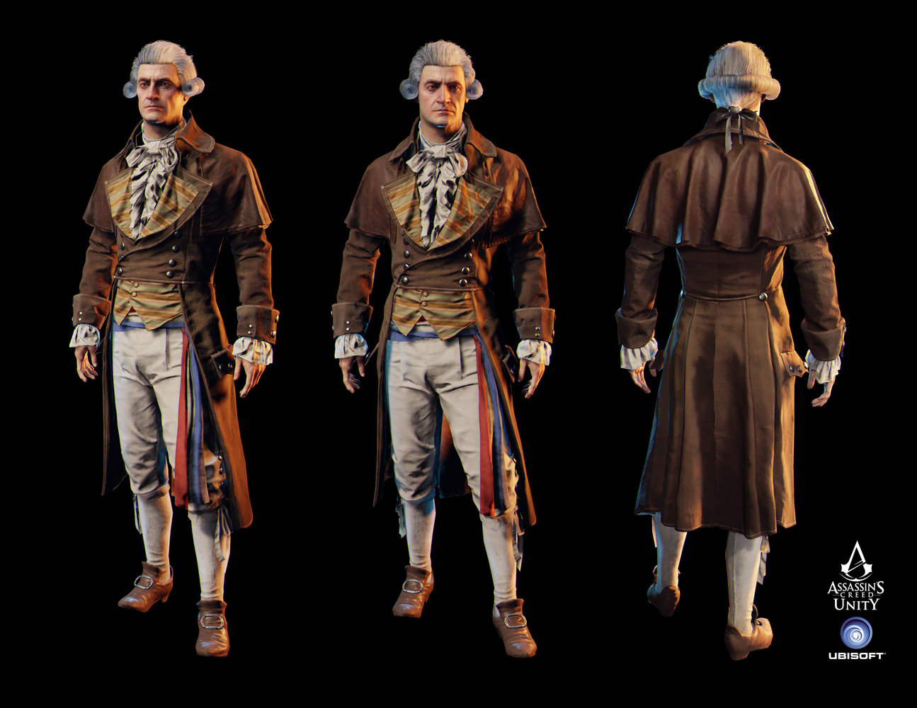 Artstation Assassin S Creed Unity Robespierre Charles Lim