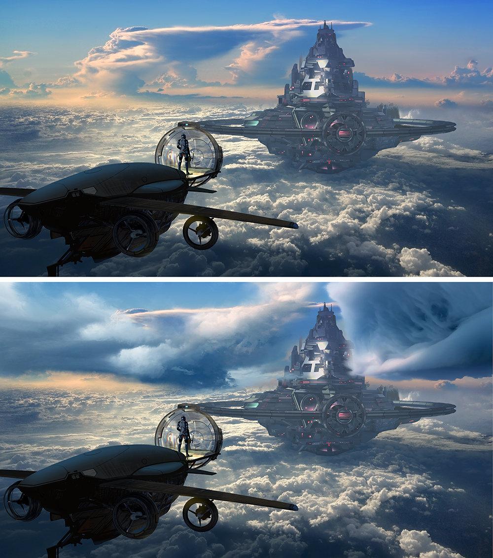 Lorenz hideyoshi ruwwe sky castle wip6