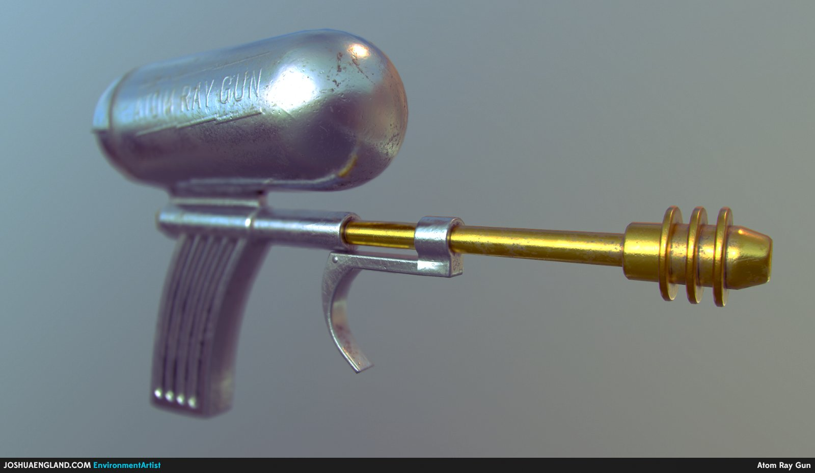 Atom Ray Gun Beauty