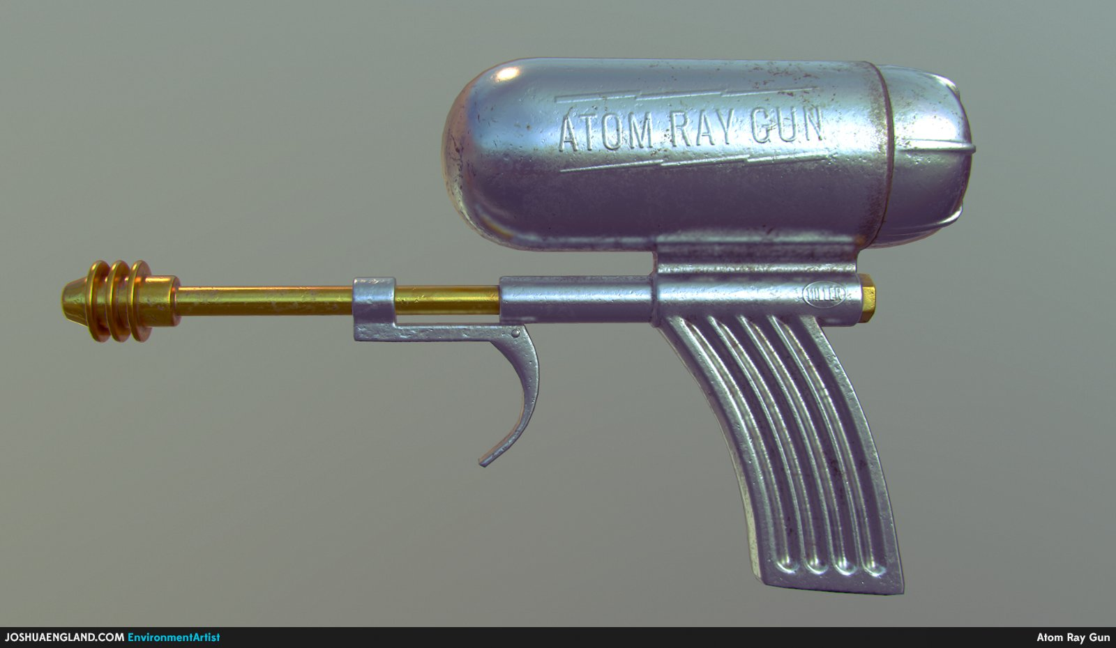 Atom Ray Gun Profile