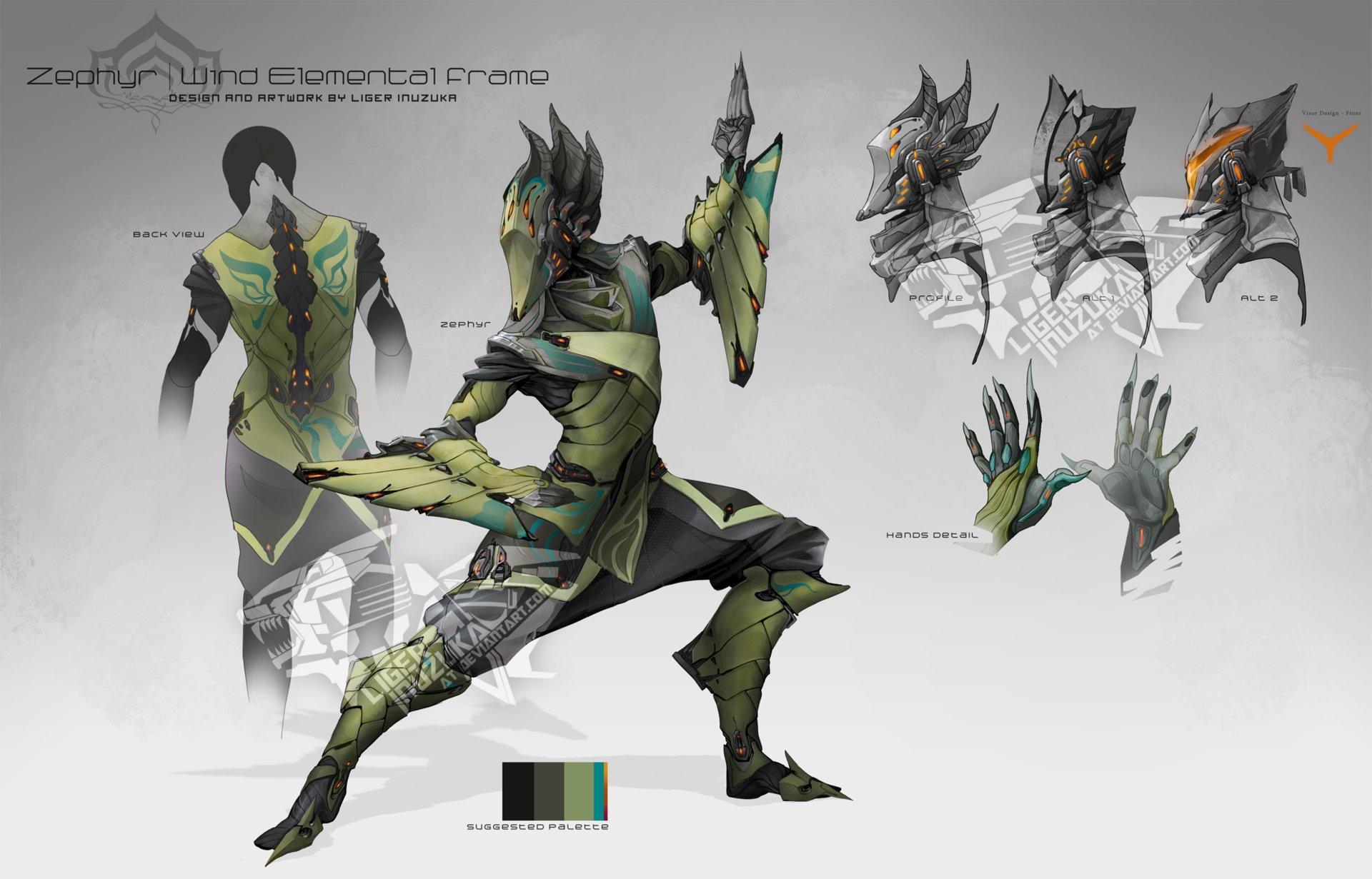 Original Zephyr concept art in 2013.