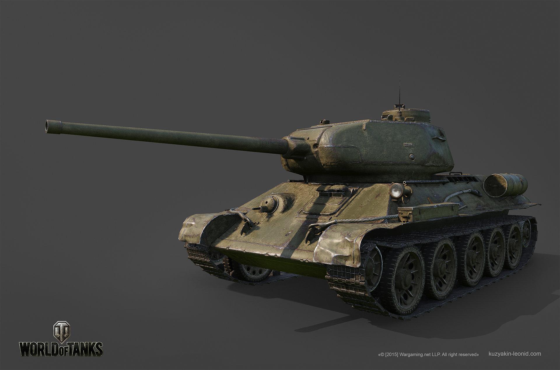 Leonid kuzyakin t 34 85m 01