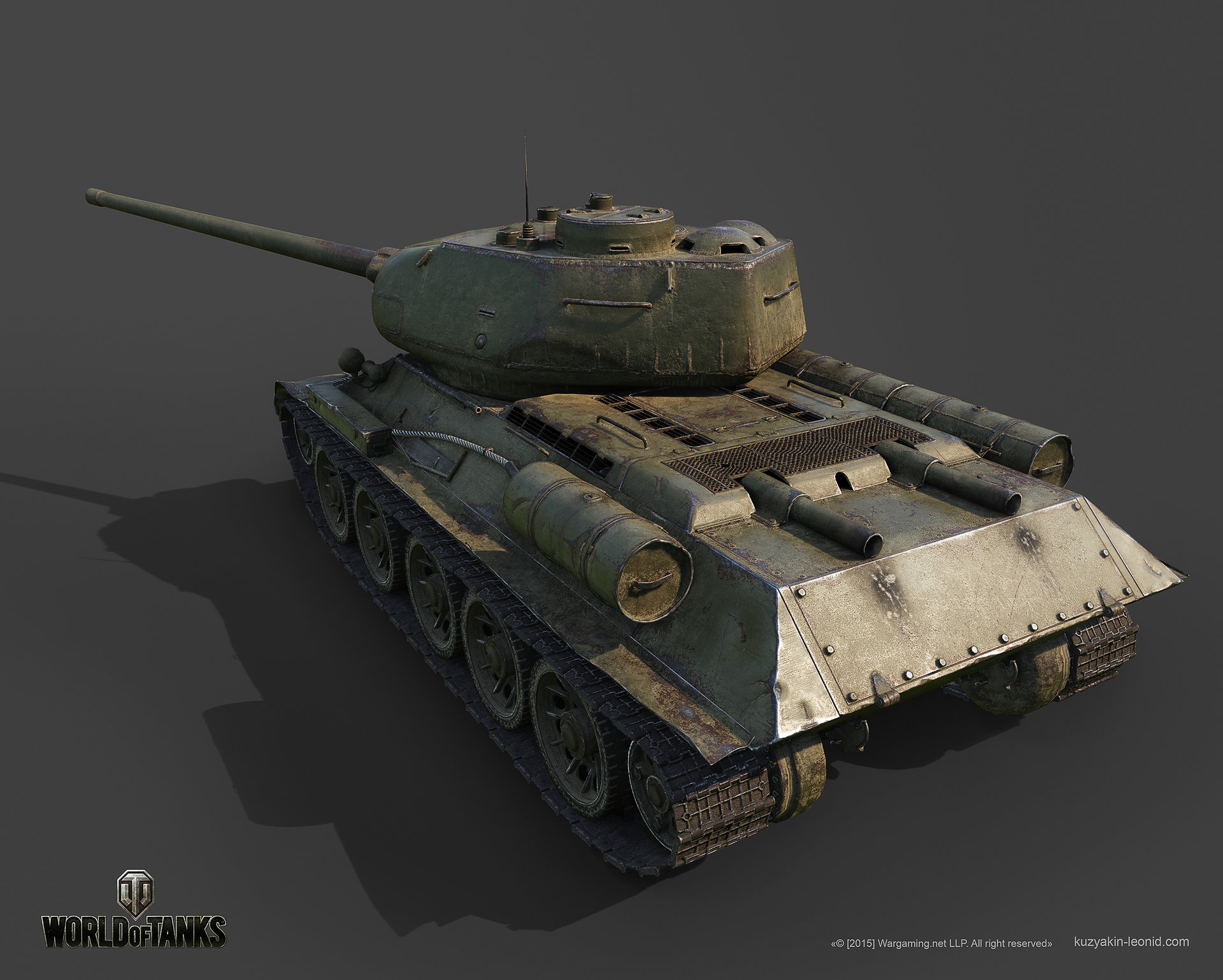Leonid kuzyakin t 34 85m 03